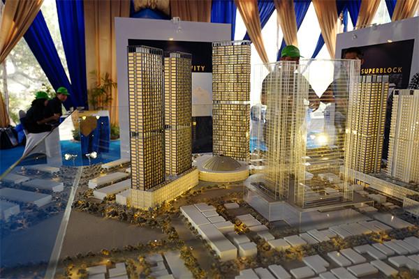 Mega Superblock yang akan menjadi sebuah landmark baru di kota Batam