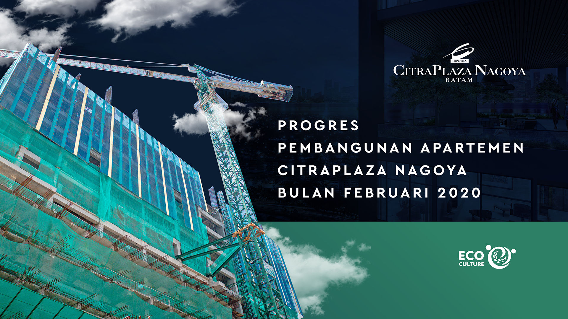 Progres Pembangunan Apartemen CitraPlaza Nagoya Bulan Februari 2020 - CitraPlaza Nagoya